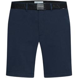 vaatteet Miehet Shortsit / Bermuda-shortsit Calvin Klein Jeans K10K107164 Sininen