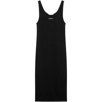 vaatteet Naiset Pitkä mekko Calvin Klein Jeans J20J216177 Musta