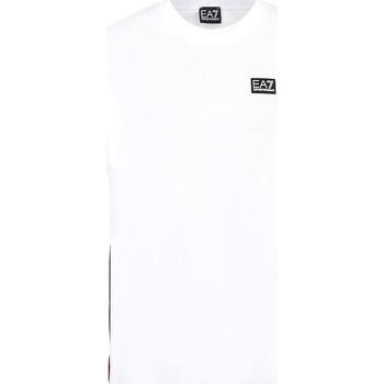 vaatteet Miehet Lyhythihainen t-paita Ea7 Emporio Armani 3KPT13 PJ02Z Valkoinen