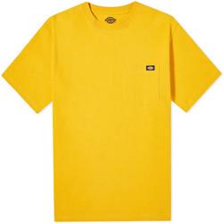 vaatteet Miehet Lyhythihainen t-paita Dickies DK0A4TMOB591 Keltainen