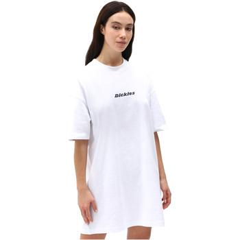 vaatteet Naiset Lyhyt mekko Dickies DK0A4XB8WHX1 Valkoinen