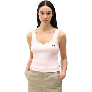 vaatteet Naiset Hihattomat paidat / Hihattomat t-paidat Dickies DK0A4XB9LPI1 Vaaleanpunainen