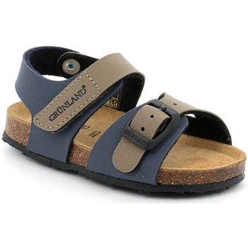 kengät Lapset Sandaalit ja avokkaat Grunland SB0372 Sininen