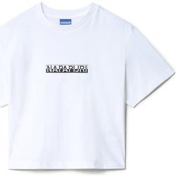 vaatteet Naiset Lyhythihainen t-paita Napapijri NP0A4EYZ Valkoinen