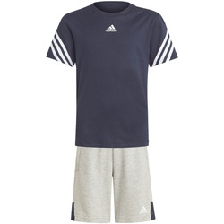 vaatteet Lapset Verryttelypuvut adidas Originals GM6973 Sininen
