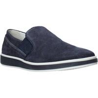kengät Miehet Mokkasiinit IgI&CO 5108200 Sininen