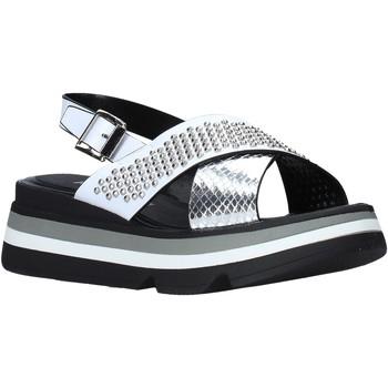 kengät Naiset Sandaalit ja avokkaat Keys K-4952 Valkoinen