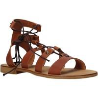 kengät Naiset Sandaalit ja avokkaat Keys K-4880 Ruskea