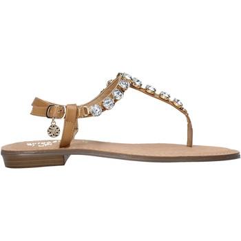 kengät Naiset Varvassandaalit Gold&gold A21 GL618 Ruskea