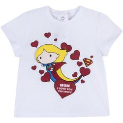 vaatteet Tytöt Lyhythihainen t-paita Chicco 09067360000000 Valkoinen