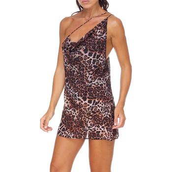 vaatteet Naiset Lyhyt mekko Me Fui M20-0456X1 Ruskea