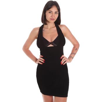 vaatteet Naiset Lyhyt mekko Me Fui M20-0354NR Musta