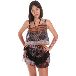 vaatteet Naiset Jumpsuits / Haalarit Me Fui M20-0060X1 Ruskea