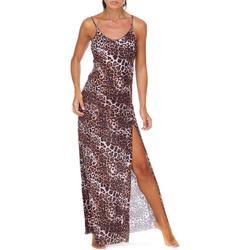 vaatteet Naiset Pitkä mekko Me Fui M20-0462X1 Ruskea