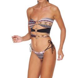 vaatteet Naiset Kaksiosainen uimapuku Me Fui M20-0003X1 Ruskea