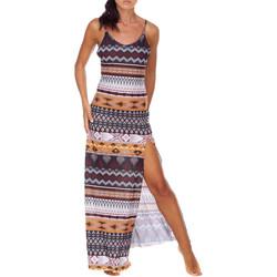 vaatteet Naiset Pitkä mekko Me Fui M20-0080X1 Ruskea