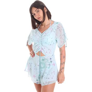 vaatteet Naiset Jumpsuits / Haalarit Me Fui M20-1058X1 Sininen