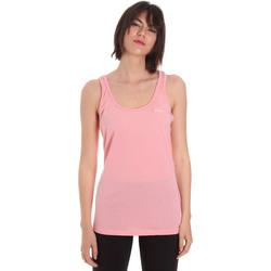 vaatteet Naiset Hihattomat paidat / Hihattomat t-paidat Diadora 102175885 Vaaleanpunainen
