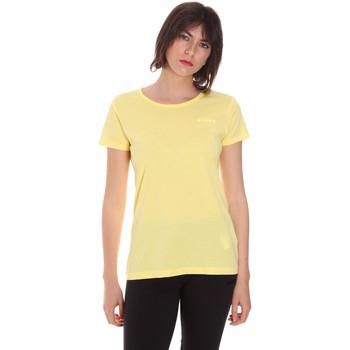 vaatteet Naiset Lyhythihainen t-paita Diadora 102175886 Keltainen