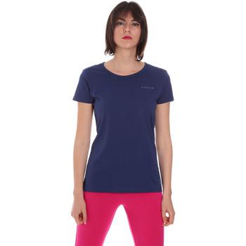 vaatteet Naiset Lyhythihainen t-paita Diadora 102175886 Sininen