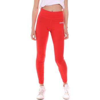 vaatteet Naiset Legginsit Diadora 102175702 Punainen