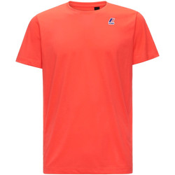 vaatteet Miehet Lyhythihainen t-paita K-Way K007JE0 Punainen