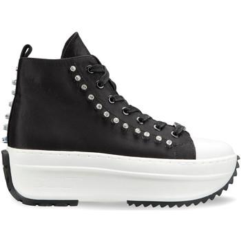 kengät Naiset Korkeavartiset tennarit Cult CLW325902 Musta
