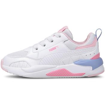 kengät Lapset Matalavartiset tennarit Puma 374192 Valkoinen