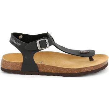 kengät Miehet Sandaalit ja avokkaat Grunland SB1573 Musta