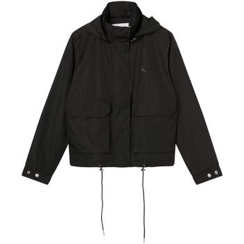 vaatteet Naiset Pusakka Calvin Klein Jeans J20J216342 Musta