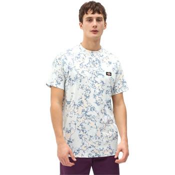 vaatteet Miehet Lyhythihainen t-paita Dickies DK0A4X9PB551 Sininen