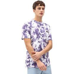 vaatteet Miehet Lyhythihainen t-paita Dickies DK0A4X9PB651 Violetti