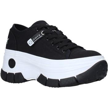 kengät Naiset Matalavartiset tennarit Onyx S21-S00OX010 Musta