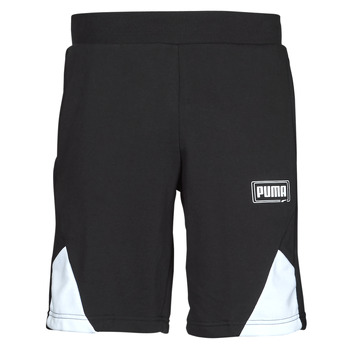 vaatteet Miehet Shortsit / Bermuda-shortsit Puma RBL SHORTS Musta / Valkoinen