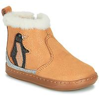 kengät Tytöt Bootsit Shoo Pom BOUBA ICE Ruskea