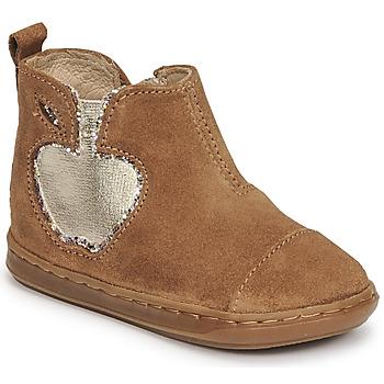kengät Tytöt Bootsit Shoo Pom BOUBA NEW APPLE Ruskea