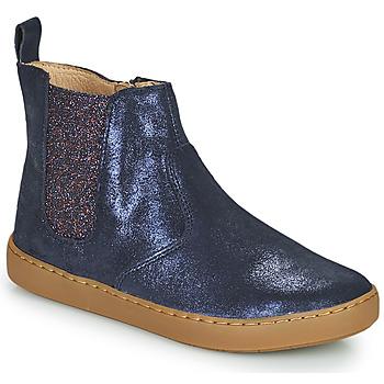 kengät Tytöt Bootsit Shoo Pom PLAY CHELSEA Sininen