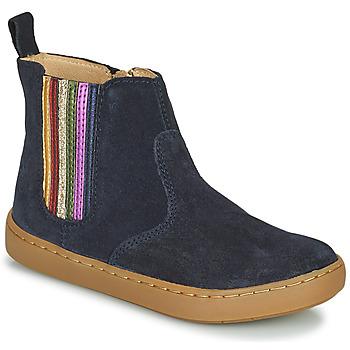 kengät Tytöt Bootsit Shoo Pom PLAY NEW SHINE Sininen