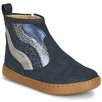 kengät Tytöt Bootsit Shoo Pom PLAY WAVES Sininen