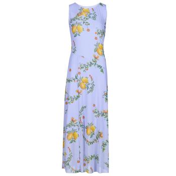 vaatteet Naiset Pitkä mekko Desigual MIAMI Monivärinen