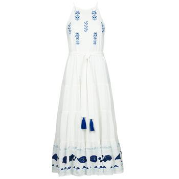 vaatteet Naiset Pitkä mekko Desigual MEMPHIS Monivärinen