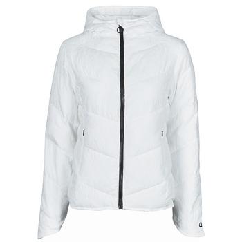 vaatteet Naiset Toppatakki Desigual MANDALA Valkoinen