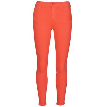 vaatteet Naiset 5-taskuiset housut Desigual ALBA Punainen