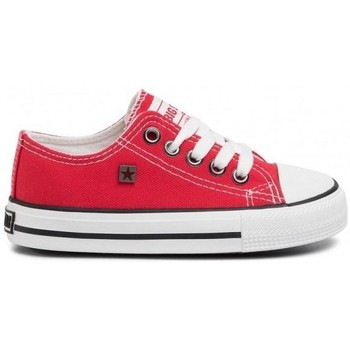 kengät Lapset Matalavartiset tennarit Big Star FF374201 Punainen