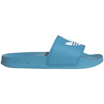 kengät Naiset Rantasandaalit adidas Originals Adilette Lite W Vaaleansiniset