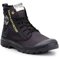 kengät Bootsit Palladium Pampa Mustat