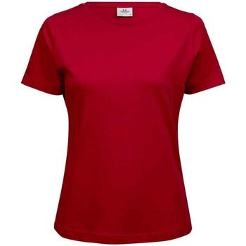 vaatteet Naiset Lyhythihainen t-paita Tee Jays T580 Red