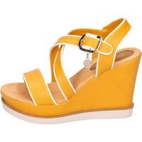 kengät Naiset Sandaalit ja avokkaat Enrico Coveri BH347 Keltainen