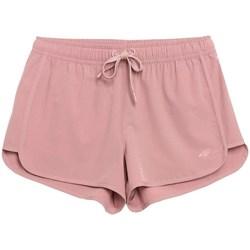 vaatteet Naiset Shortsit / Bermuda-shortsit 4F SKDT001 Vaaleanpunaiset