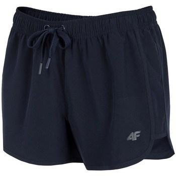 vaatteet Naiset Shortsit / Bermuda-shortsit 4F SKDT001 Mustat